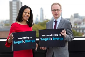 Cllr Claudia Webbe and Cllr Richard Watts launch Angelic Energy